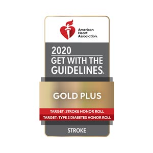 Heart and Vascular Care American Heart Association Get with the Guidelines Gold Plus